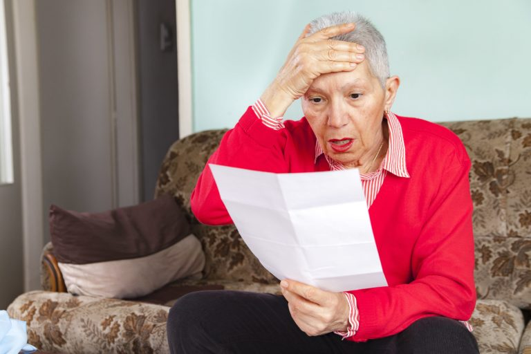 retiring with huge credit card debt